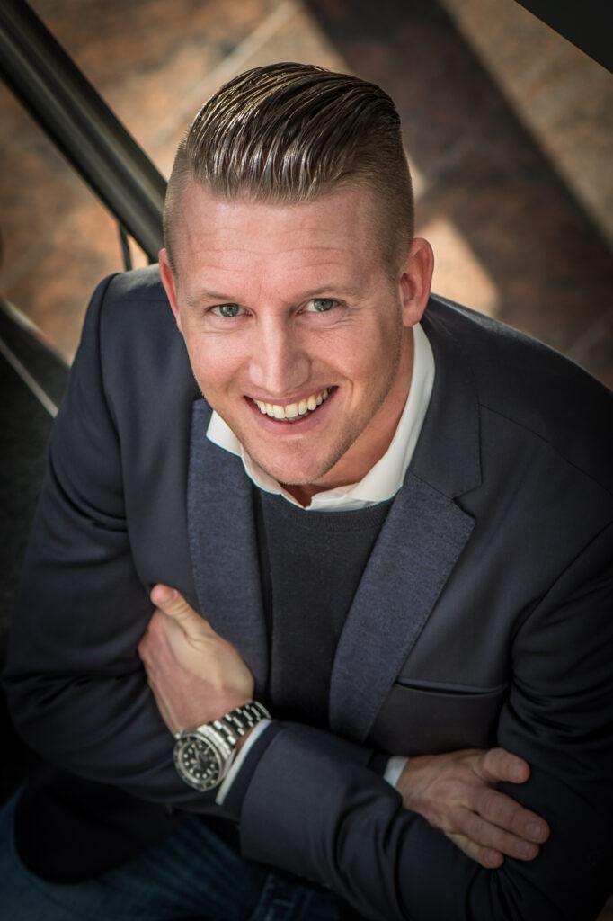 Mark Hofkens, CEO van schoonmaakbedrijf Hofkens HIG