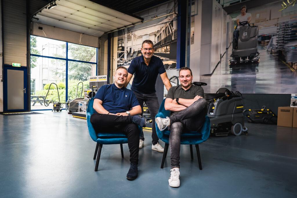 """Ruud Danklof (in het midden): """"De schoonmaak is volwassener geworden"""""""